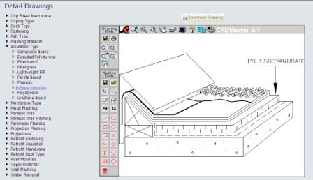 OLIR Roof Information Management System
