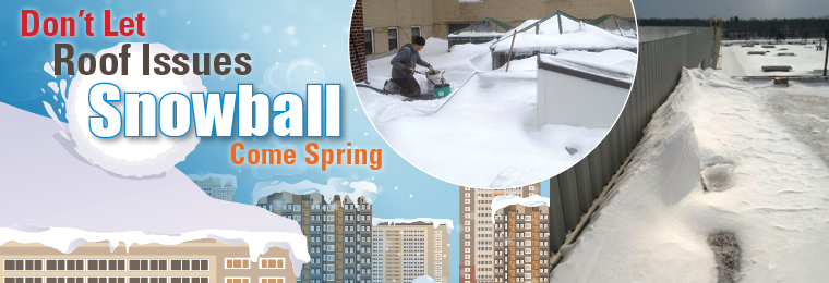 Don't Let Roof Issues Snowball Come Spring